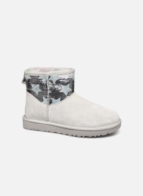Bottines et boots UGG Classic Mini Sequin Stars Gris vue détail/paire