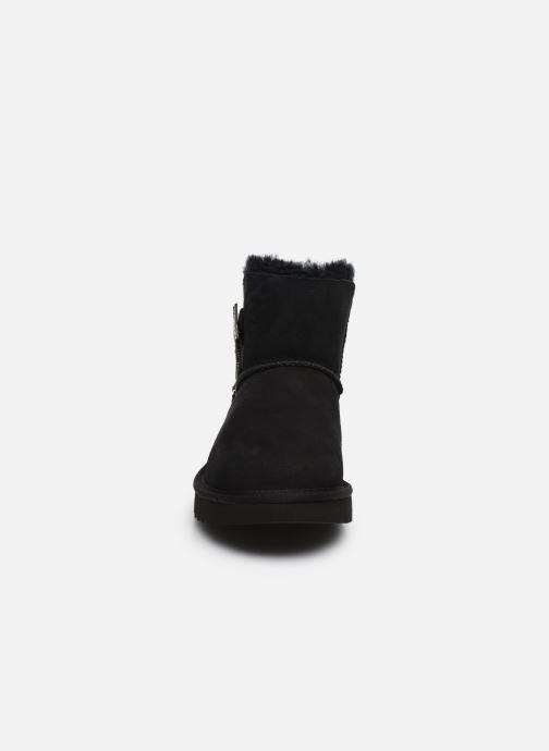 Boots en enkellaarsjes UGG Mini Bailey Star Zwart model