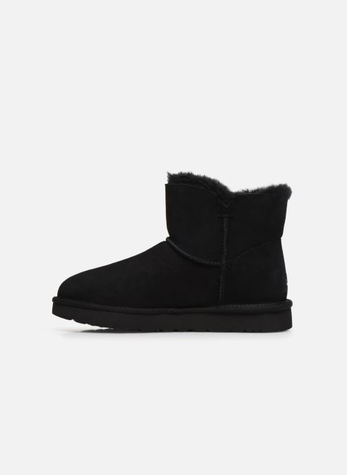 Ankle boots UGG Mini Bailey Star Black front view