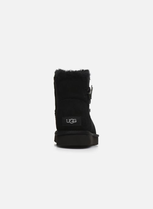 Ankle boots UGG Mini Bailey Star Black view from the right