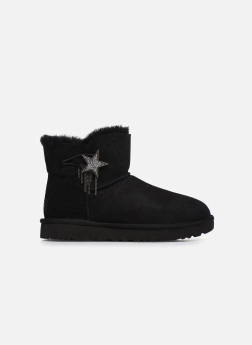 Boots en enkellaarsjes UGG Mini Bailey Star Zwart achterkant