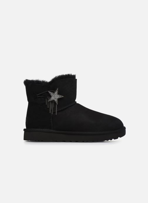 Ankle boots UGG Mini Bailey Star Black back view