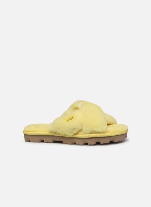 Pantofole UGG Fuzzette Giallo immagine posteriore