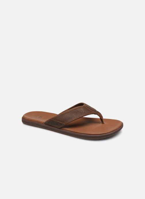 Infradito UGG Seaside Flip Leather Marrone vedi dettaglio/paio