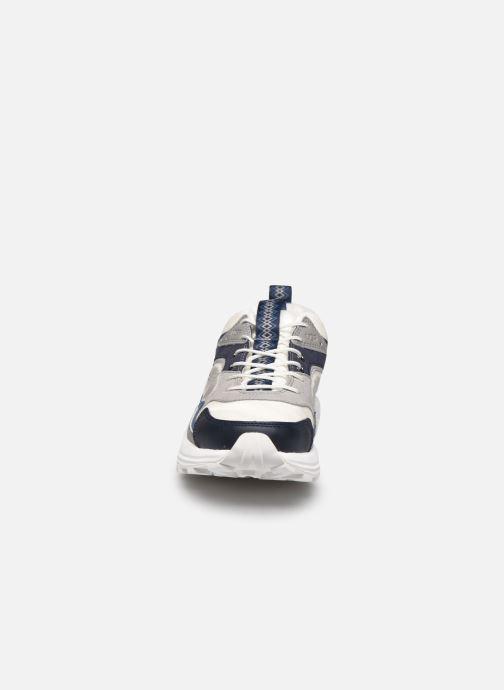 Sneaker UGG Miwo Trainer Low Mono blau schuhe getragen