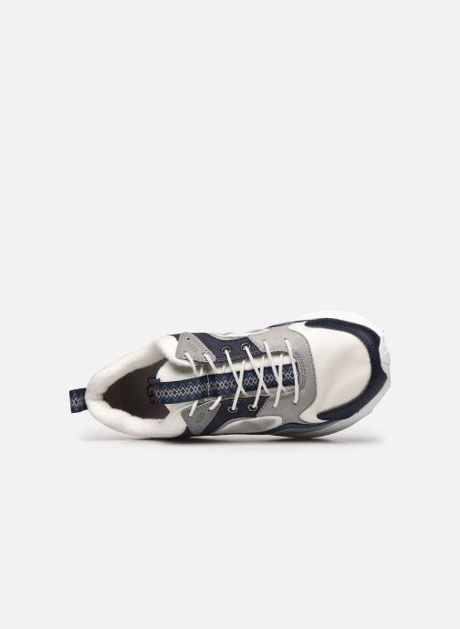 Sneaker UGG Miwo Trainer Low Mono blau ansicht von links