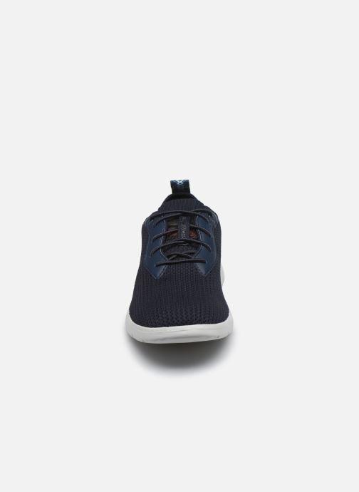 Sneaker UGG Fathom HyperWeave Low blau schuhe getragen