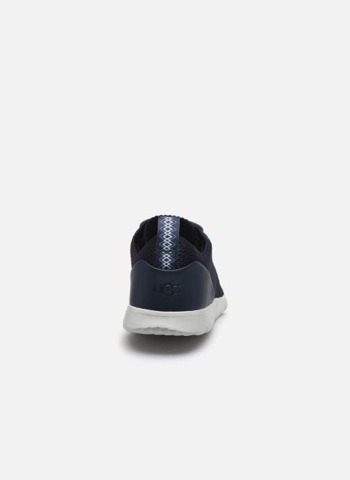 Sneaker UGG Fathom HyperWeave Low blau ansicht von rechts
