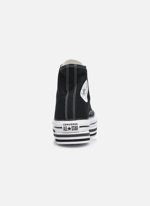 Sneaker Converse Chuck Taylor All Star Platform Layer Eva Layers Hi schwarz ansicht von rechts