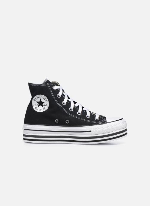 Sneaker Converse Chuck Taylor All Star Platform Layer Eva Layers Hi schwarz ansicht von hinten