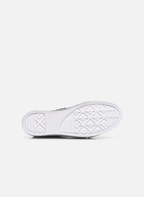 Sneaker Converse Chuck Taylor All Star Platform Layer Eva Layers Hi schwarz ansicht von oben