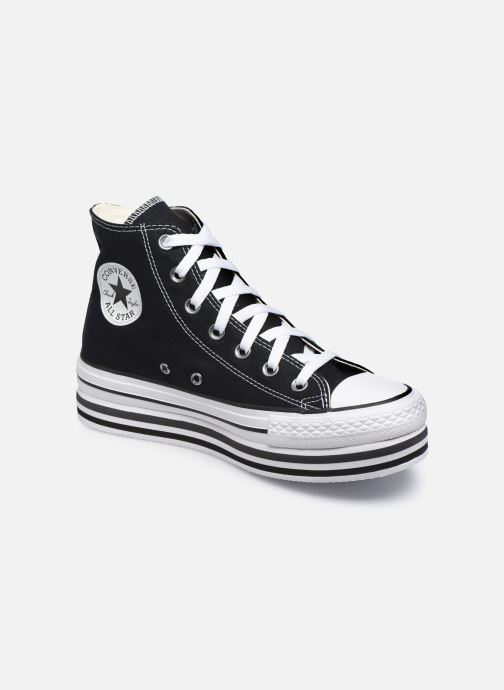 Sneaker Converse Chuck Taylor All Star Platform Layer Eva Layers Hi schwarz detaillierte ansicht/modell