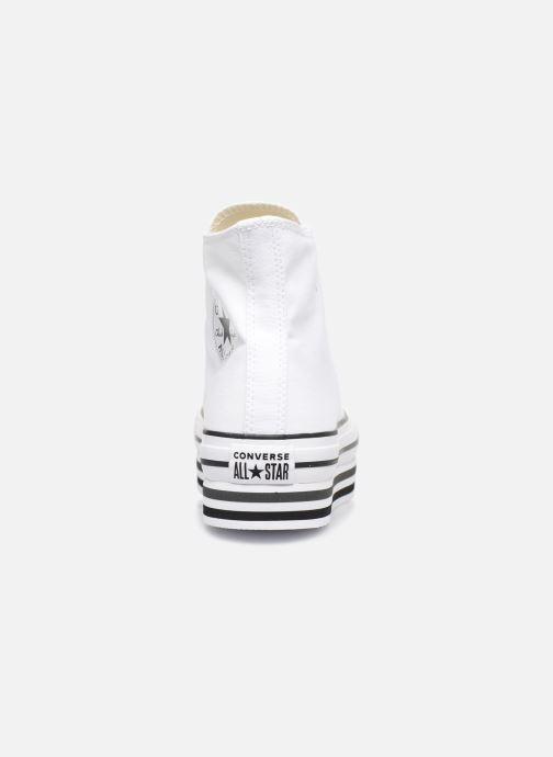 Sneakers Converse Chuck Taylor All Star Platform Layer Eva Layers Hi Wit rechts