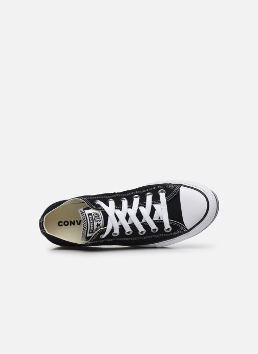 Baskets Converse Chuck Taylor All Star Platform Layer EVA Layers Ox Noir vue gauche