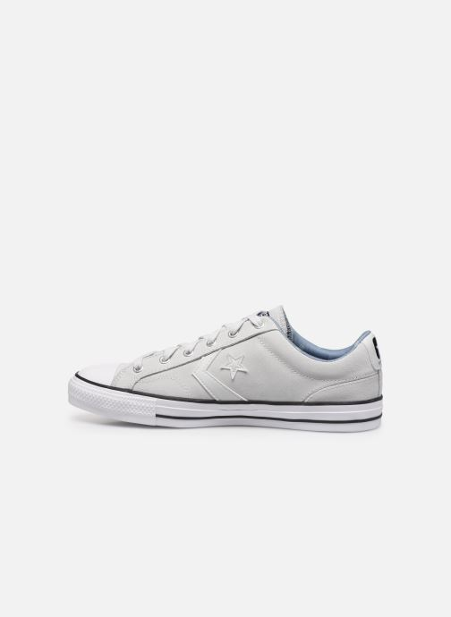 Baskets Converse Star Player Twisted Prep Ox M Blanc vue face