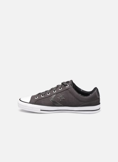 Trainers Converse Star Player Twisted Prep Ox M Black front view
