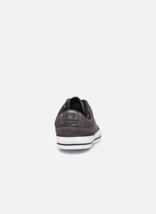 Trainers Converse Star Player Twisted Prep Ox M Black view from the right