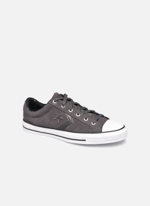 Trainers Converse Star Player Twisted Prep Ox M Black detailed view/ Pair view