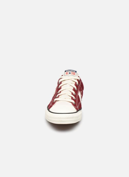 Baskets Converse Star Player Raise Your Game Ox Rouge vue portées chaussures