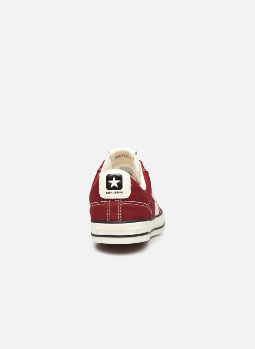 Baskets Converse Star Player Raise Your Game Ox Rouge vue droite