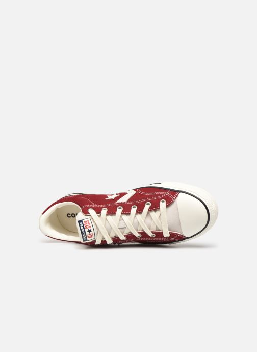 Baskets Converse Star Player Raise Your Game Ox Rouge vue gauche