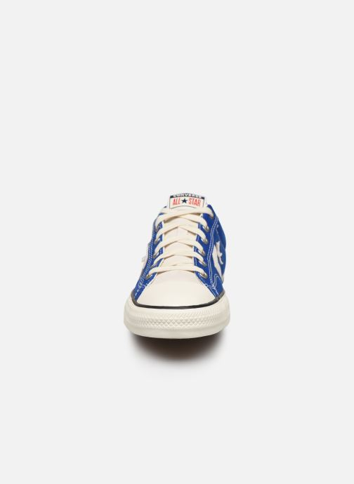 Sneaker Converse Star Player Raise Your Game Ox blau schuhe getragen
