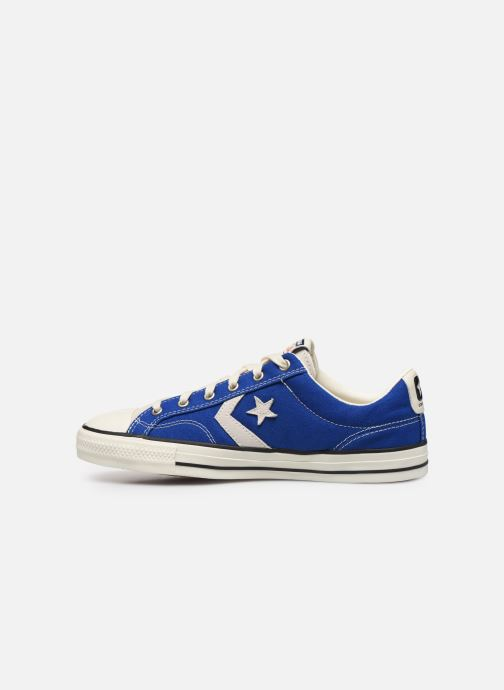 Sneaker Converse Star Player Raise Your Game Ox blau ansicht von vorne