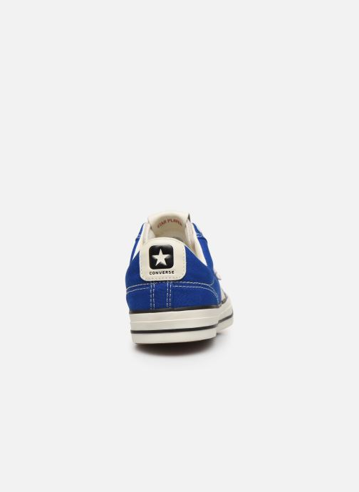 Baskets Converse Star Player Raise Your Game Ox Bleu vue droite