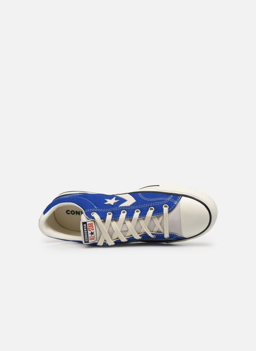 Sneaker Converse Star Player Raise Your Game Ox blau ansicht von links