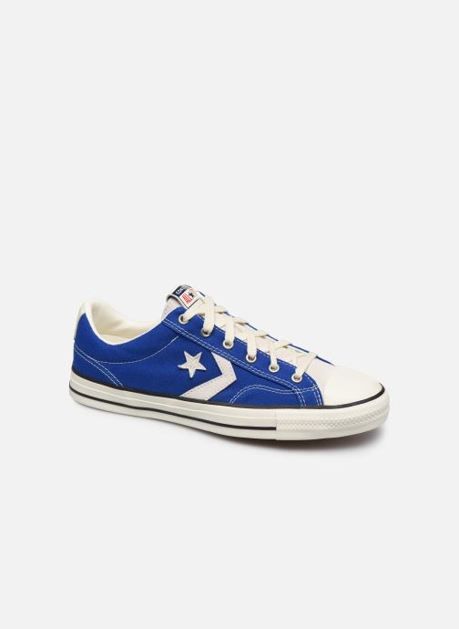 Baskets Converse Star Player Raise Your Game Ox Bleu vue détail/paire