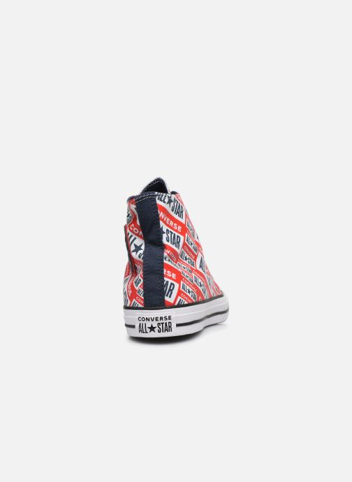 Baskets Converse Chuck Taylor All Star Logo Play Hi M Rouge vue droite