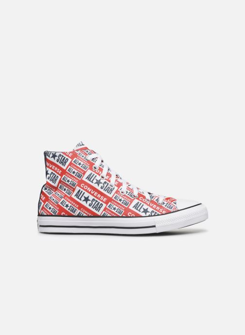 Baskets Converse Chuck Taylor All Star Logo Play Hi M Rouge vue derrière