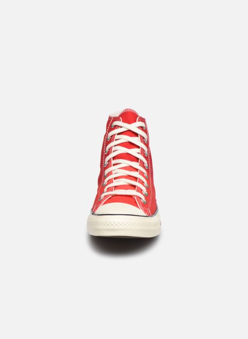 Baskets Converse Chuck Taylor All Star Self Expression Hi M Rouge vue portées chaussures