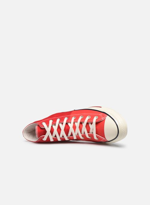 Baskets Converse Chuck Taylor All Star Self Expression Hi M Rouge vue gauche