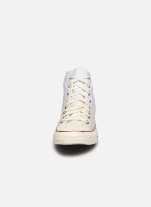 Baskets Converse Chuck Taylor All Star Self Expression Hi M Blanc vue portées chaussures