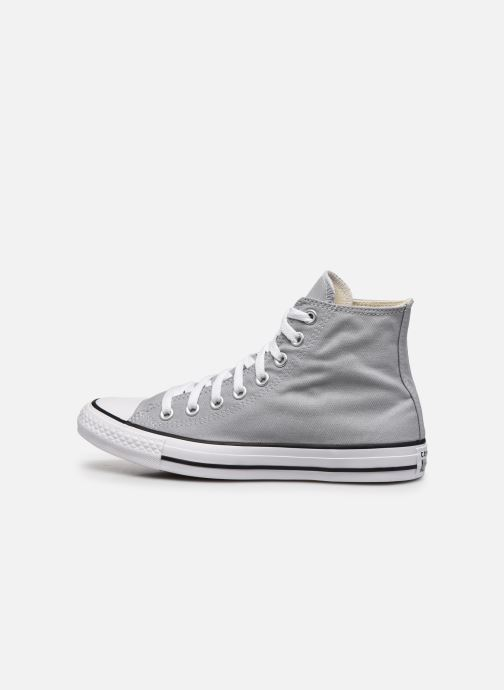 Baskets Converse Chuck Taylor All Star Seasonal Color Hi M Gris vue face