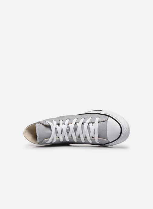 Baskets Converse Chuck Taylor All Star Seasonal Color Hi M Gris vue gauche