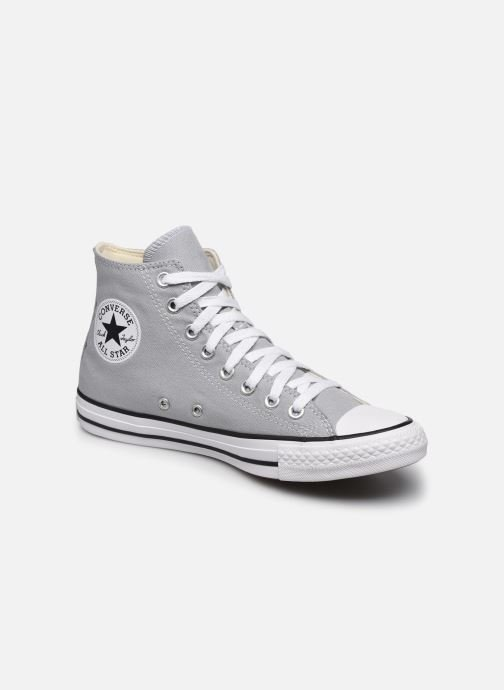 Baskets Converse Chuck Taylor All Star Seasonal Color Hi M Gris vue détail/paire