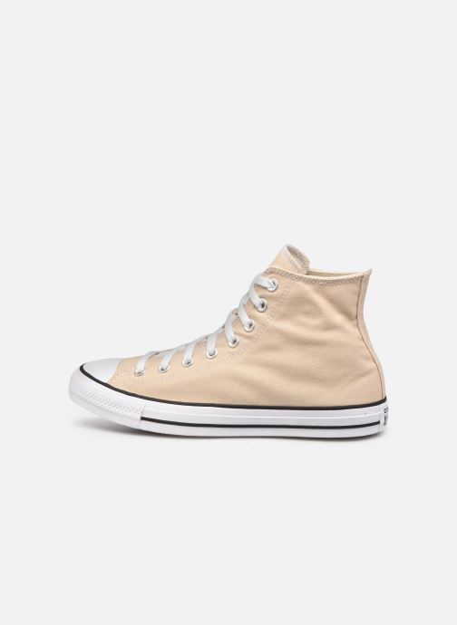 Deportivas Converse Chuck Taylor All Star Seasonal Color Hi M Beige vista de frente