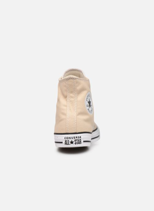 Deportivas Converse Chuck Taylor All Star Seasonal Color Hi M Beige vista lateral derecha