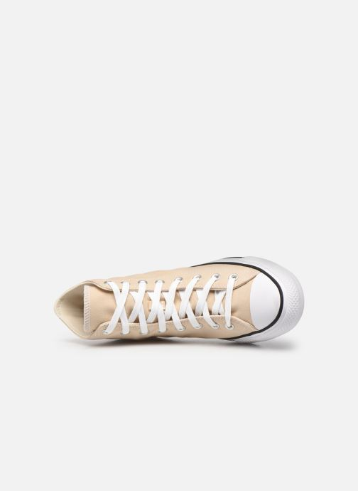 Deportivas Converse Chuck Taylor All Star Seasonal Color Hi M Beige vista lateral izquierda