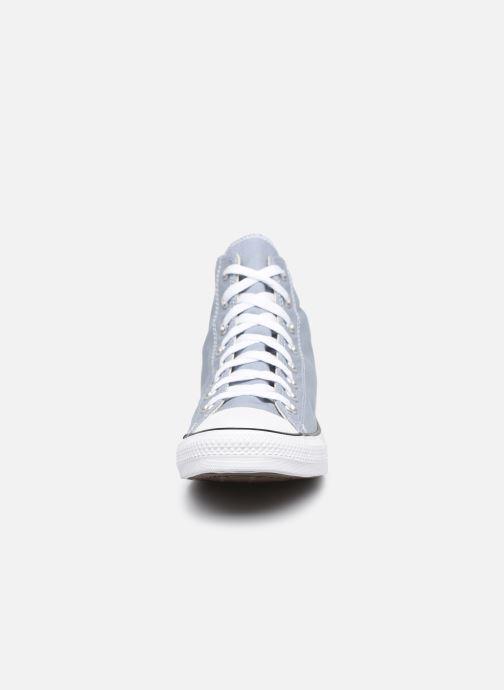 Baskets Converse Chuck Taylor All Star Seasonal Color Hi M Gris vue portées chaussures