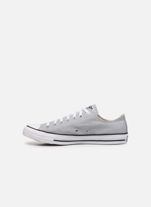 Baskets Converse Chuck Taylor All Star Seasonal Color Ox M Gris vue face
