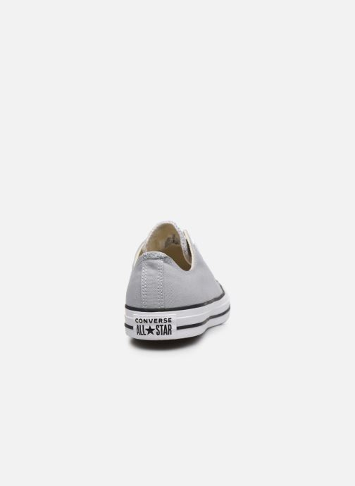 Deportivas Converse Chuck Taylor All Star Seasonal Color Ox M Gris vista lateral derecha