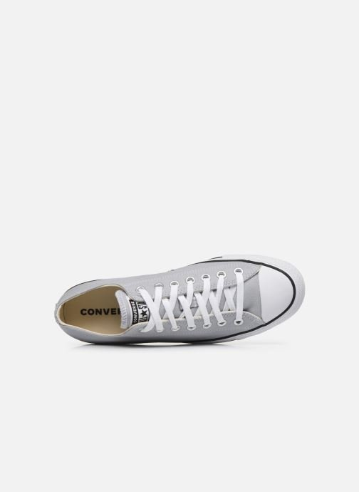 Deportivas Converse Chuck Taylor All Star Seasonal Color Ox M Gris vista lateral izquierda