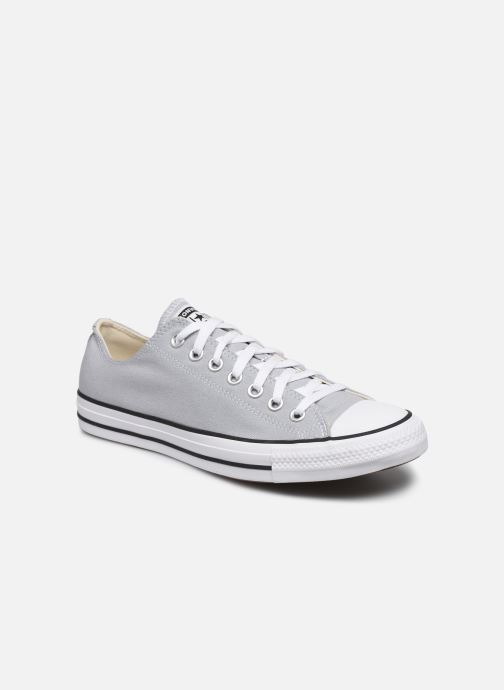 Baskets Converse Chuck Taylor All Star Seasonal Color Ox M Gris vue détail/paire