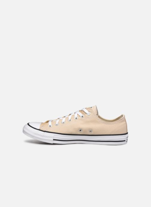 Deportivas Converse Chuck Taylor All Star Seasonal Color Ox M Beige vista de frente