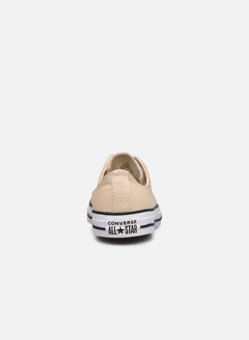 Deportivas Converse Chuck Taylor All Star Seasonal Color Ox M Beige vista lateral derecha
