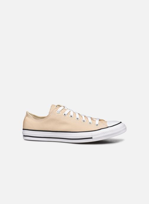 Baskets Converse Chuck Taylor All Star Seasonal Color Ox M Beige vue derrière