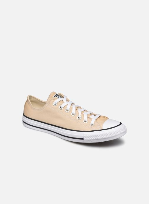 Baskets Converse Chuck Taylor All Star Seasonal Color Ox M Beige vue détail/paire